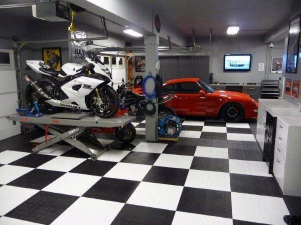 Garage Makeover Ideas Porsche Garage Decor Retro Garage Ideas