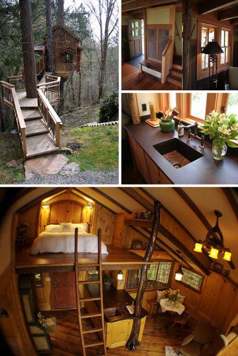 Tree House Studio Builds Hideaways, Studios & Retreats, <3