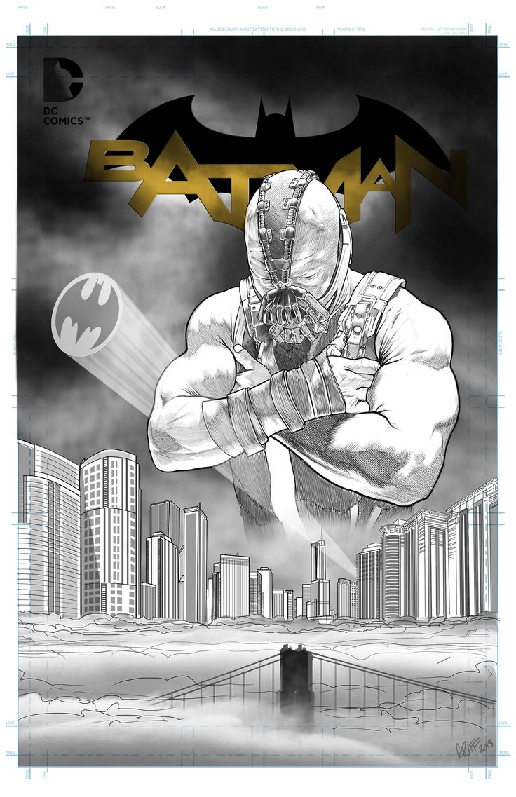Bane Cover Created byGriffin T. Kearns