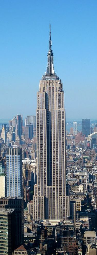 25 b sta id erna om empire state building p pinterest for New york architecture firms