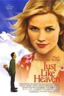 JUST LIKE HEAVEN.  Director: Mark Waters.  Year: 2005.  Cast: Reese Witherspoon, Mark Ruffalo, Donal Logue, Dina Waters