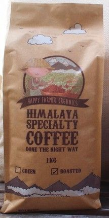 Coffee...............Proudly 100% organic coffee certified by the USDA & EU. No nasty chemicals. All our Nepalese beans are hand picked, washed in Himalayan snow melt water and sorted. Our Single Origin Arabica coffee direct from the farmer to you is also specialty coffee graded by the SCA association.
