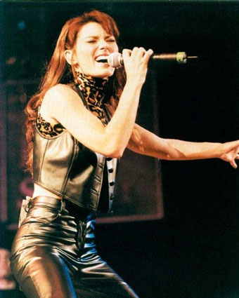 Shania Twain..I've always liked Shania...she's making a comeback!