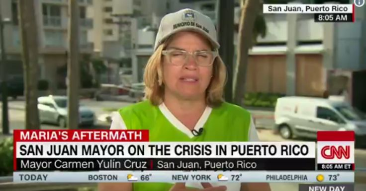 """San Juan Mayor Fumes After Top Trump Official Calls Puerto Rico Response A 'Good News Story'  """"Damn it, this is not a good news story. This is a people are dying story."""""""