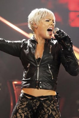 P!nk. The soundtrack of my life. All in all, her music is always a good time.