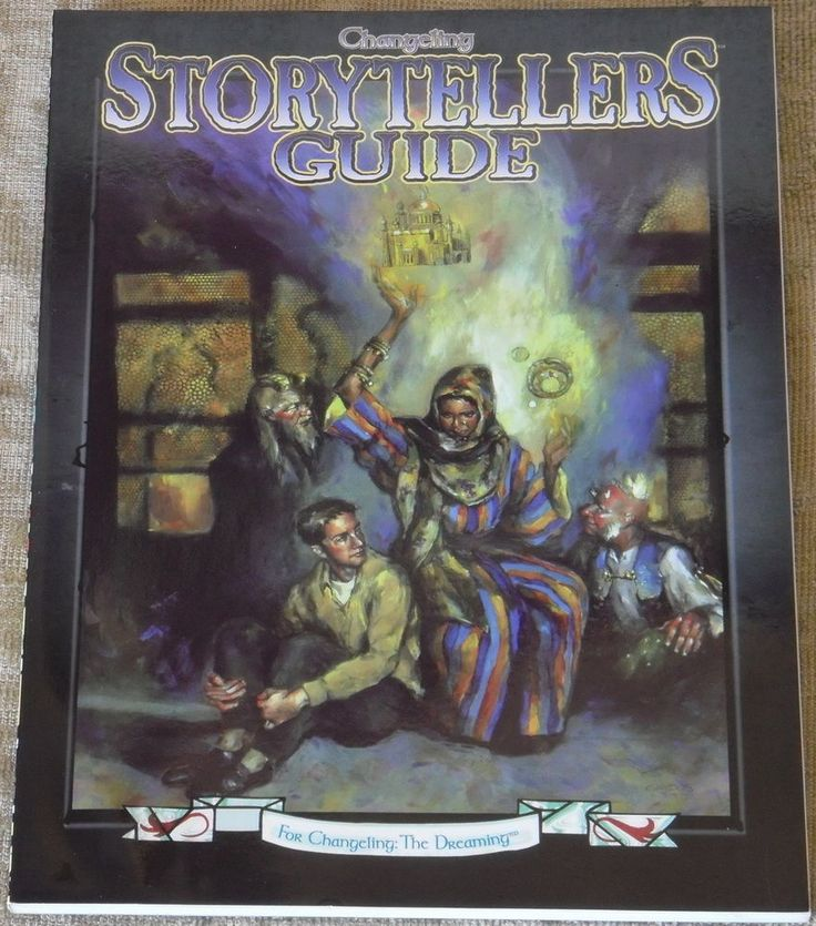 CHANGELING - STORYTELLERS GUIDE - for CHANGELING: THE DREAMING - WHITE WOLF 14,24+5 la bottega dello gnometto