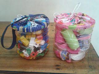 15 ideas de manualidades reciclando garrafones de agua ~ Mimundomanual