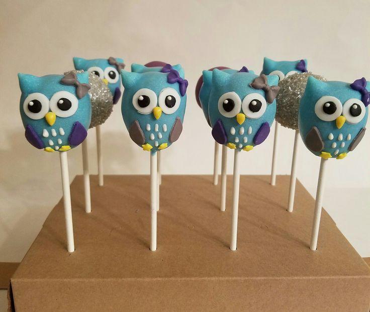 Bakerella Owl Cake Pops Recipe
