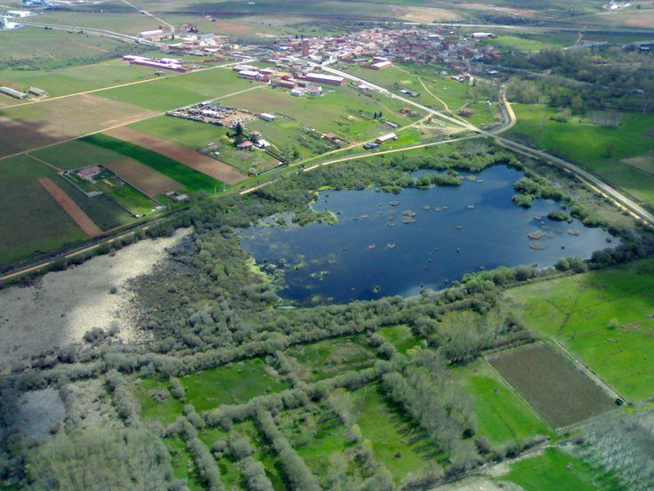 Laguna de Villadangos del Páramo, León, Camino de Santiago