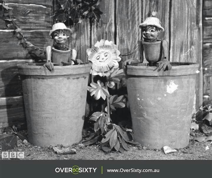 Bill and Ben the flower pot men