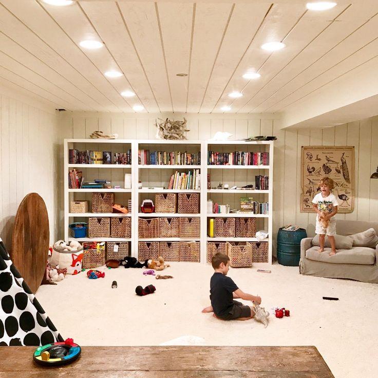 Luxury Finished Basement without Drywall