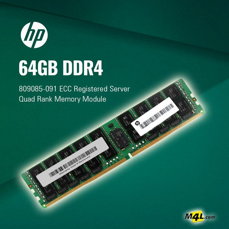 HP 64GB DDR4 Server Memory