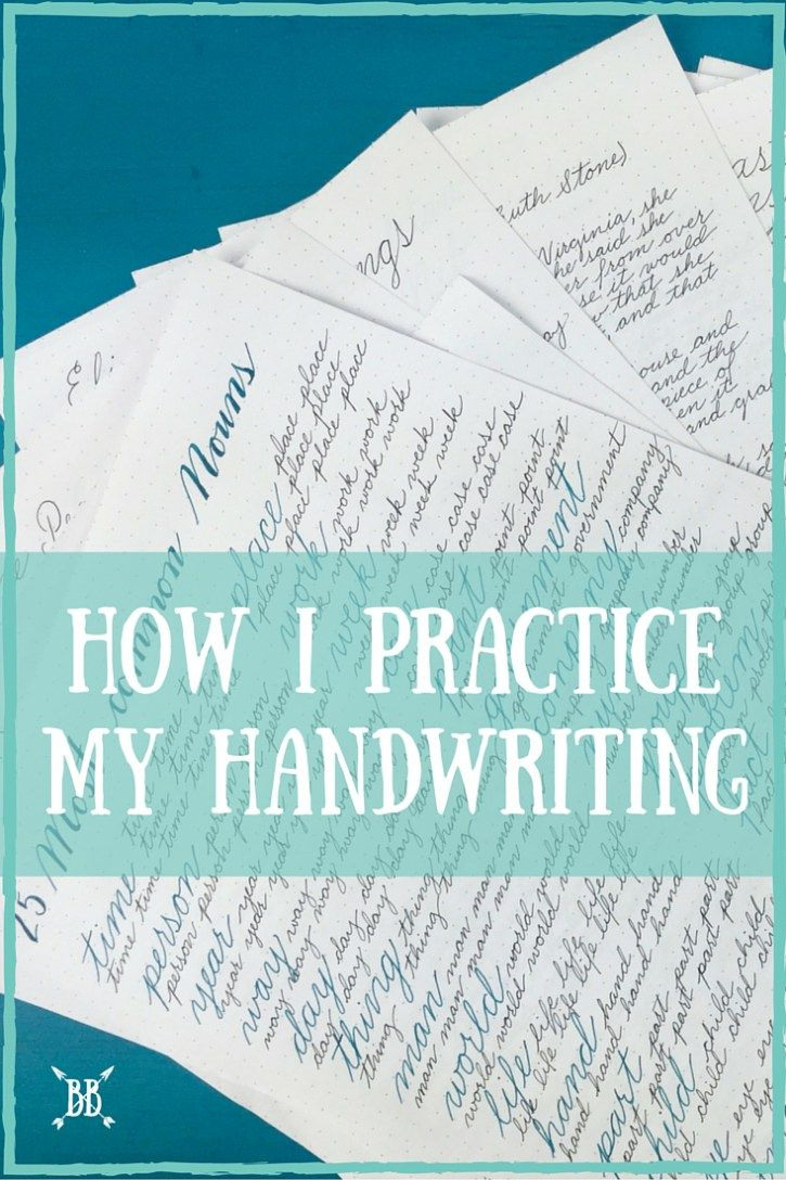 One of the questions I'm asked the most is how I practice my handwriting. Today I'm walking you through my process step by step. Oh, and there might be a whole YouTube video at the end as well :)