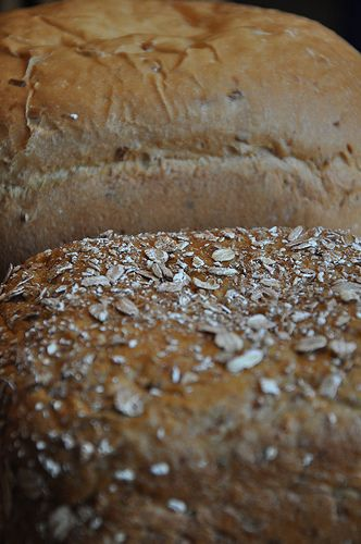 Homemade Bread Recipe: Easy, No-need-to-knead and Baked in the Crock Pot (wheat, white, & rye)