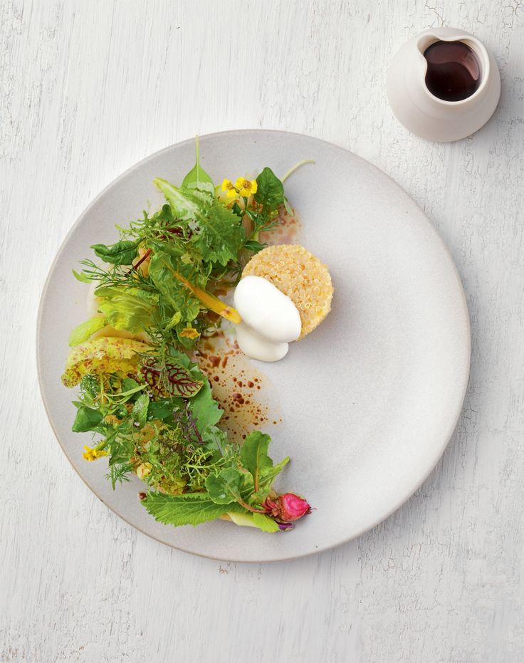 Quinoa-Salat mit japanischem Finish