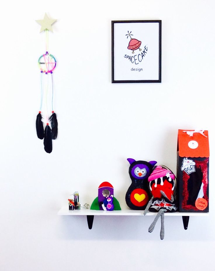 A personal favourite from my Etsy shop https://www.etsy.com/au/listing/459641022/dream-catchercolourful-rainbow-wall
