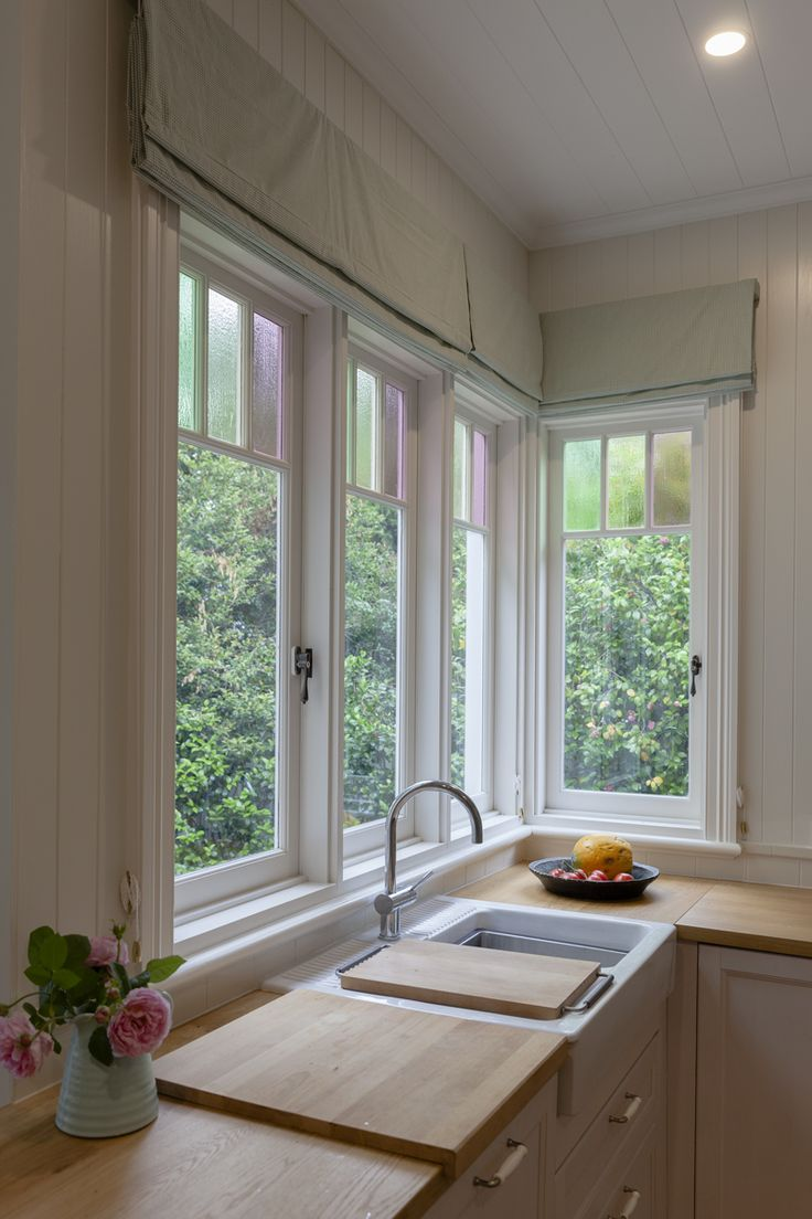 Casement windows in a traditional style by Against the Grain Windows & Doors