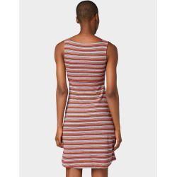 Tom Tailor Damen Gestreiftes Kleid, rot, gestreift, Gr.40 Tom TailorTom Tailor