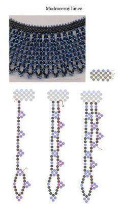 Necklae schema ~ Seed Bead Tutorials