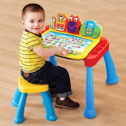 Vtech Touch And Learn Activity Desk Deluxe Best Toddler Toys
