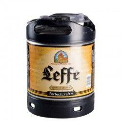Mini-Fût Bière Abbaye de Leffe Blonde  6l - Perfect Draft