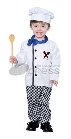 Halloween Costumes Cute little chef Costumes