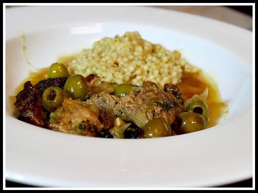 Lamb Tagine with Preserved Lemons and Green Olives