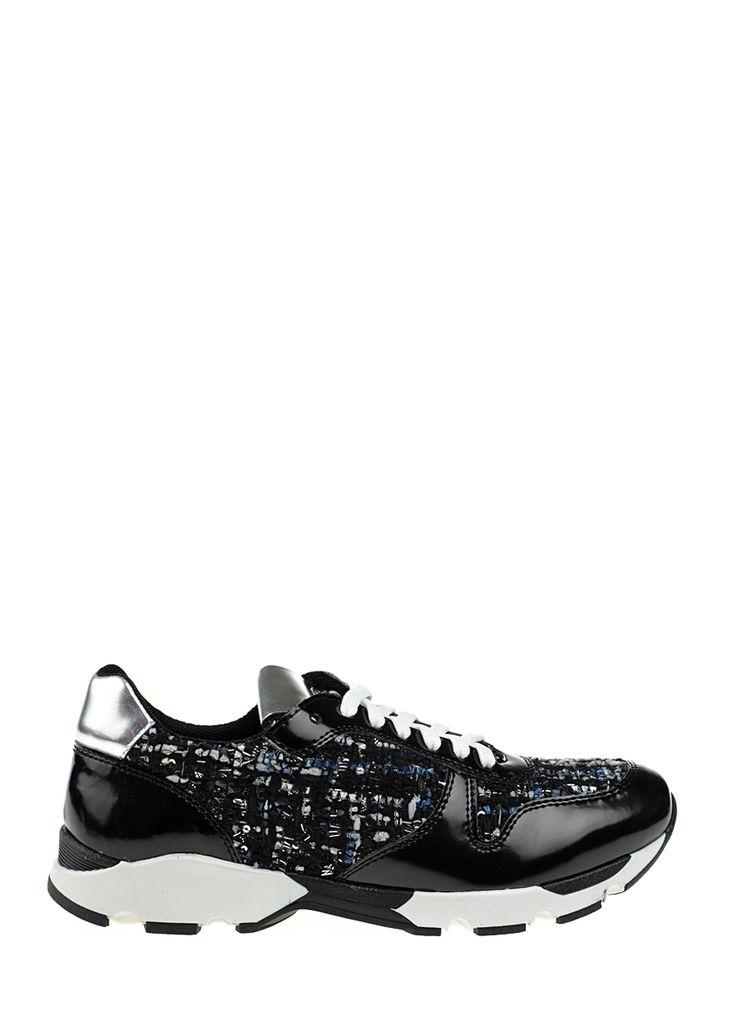 Divarese - Siyah Spor Ayakkabı