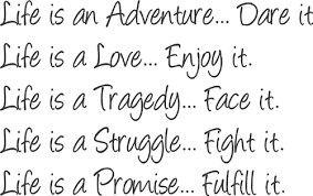 True so live your LIFE