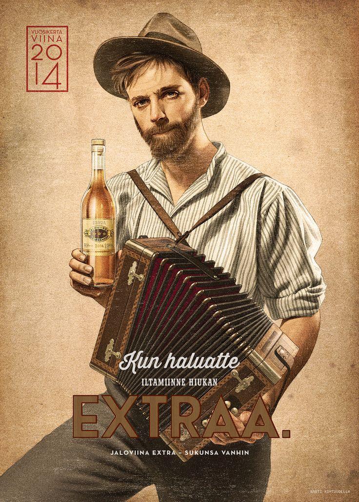 Jaloviina Extra poster