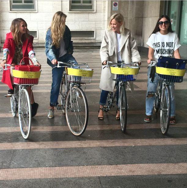Cigno Bike at Milano Design Week!