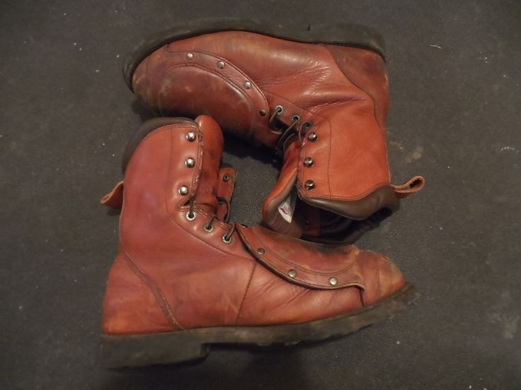 RED WING 4478 Leather Metatarsal Guard Safety Work Boots Sz-11 B US #RedWing #WorkSafety