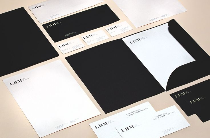 LBM - Corporate visual identity by Dynamo design, photo of printed realization by w:u studio