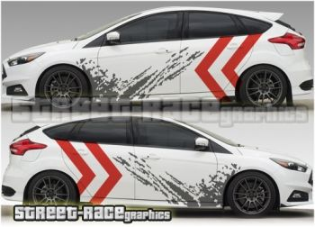 Ford focus race track livery