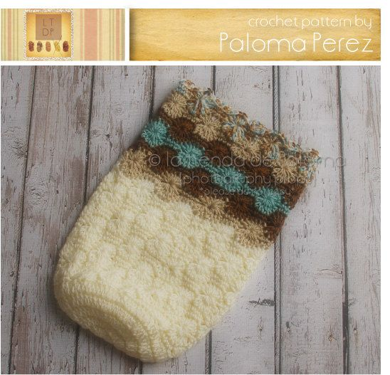 INSTANT DOWNLOAD  Crochet Baby Cocoon Pattern  Baby by palomapch, $4.99