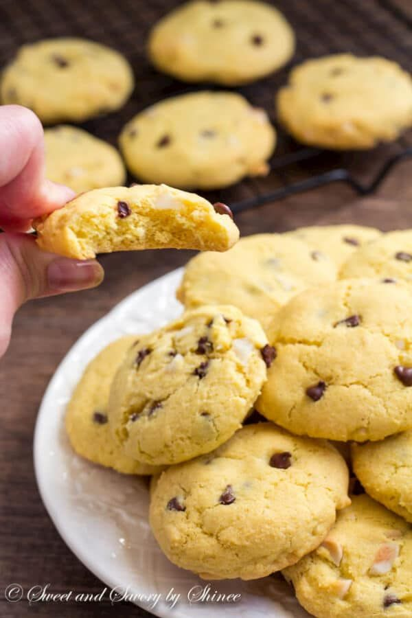 Rich, slightly cakey egg yolk cookies are just as tasty as any chocolate chip cookies.