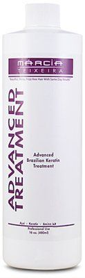 Marcia Teixeira Advanced Brazilian Keratin Treatment - 16 oz by Marcia Teixeira Brazilian Keratin Treatment. $294.38. Marcia Teixeira Advanced Brazilian Keratin Treatment puts ARTISTRY into your professional hands and achieves the amazing results your priceless clients insist on. Advanced Brazilian Keratin Treatment is the next phenomenon in healthy, fabulous hair. It is the same high quality, safe product you have come to know since using the original Marcia Teixeira Brazilian...