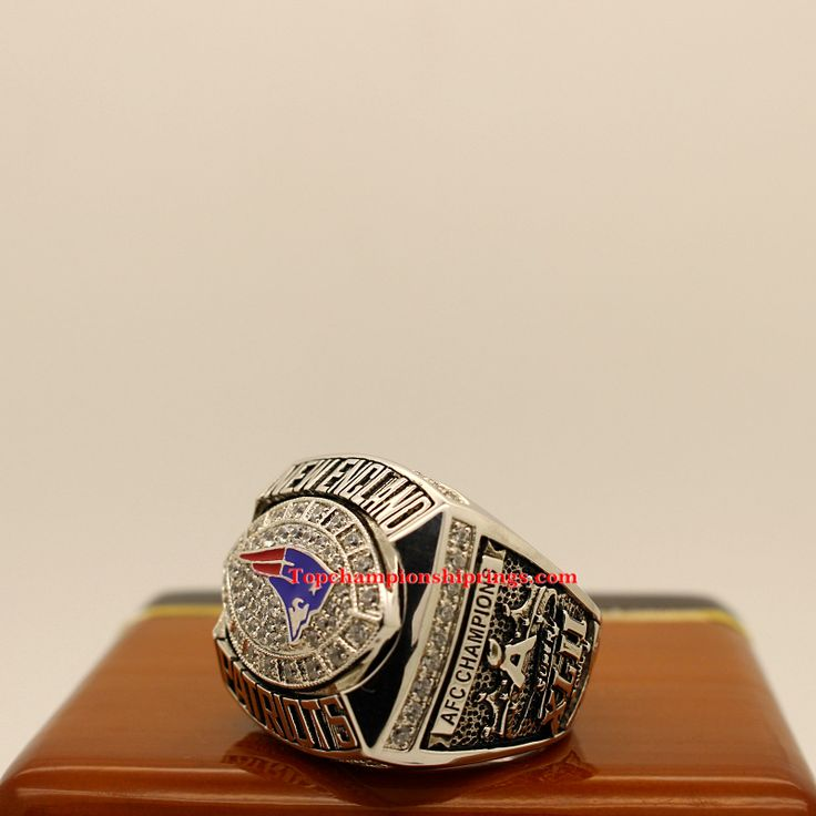 2007 New England Patriots AFC Football Championship Ring