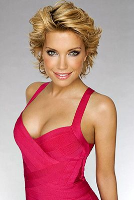 Cute Hair--Sylvie van der Vaart