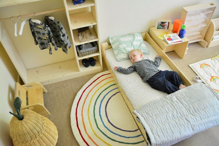 Montessori Floor Bed One Year Old At How We Montessori Sprout Kids