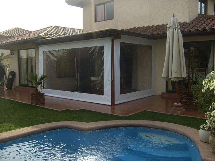 1000 images about terraza y quincho en pinterest - Toldo de terraza ...