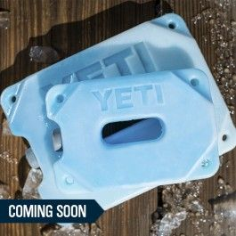 We specialize in making things tough and keeping things ridiculously cold. YETI ICE does both: it chills contents faster, and it will never break. Available March 1st.