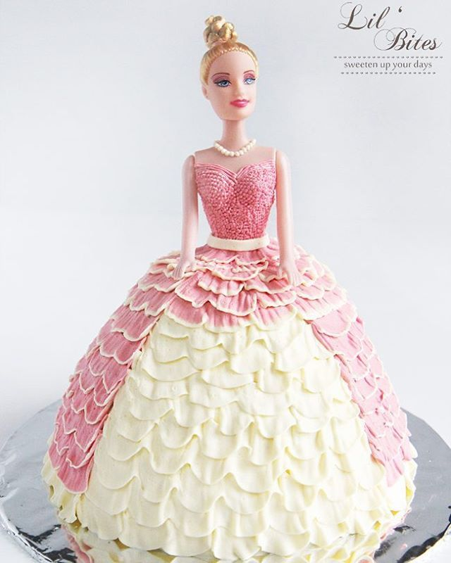 Surprise your princess with this magical barbie cake for her birthday  it is…