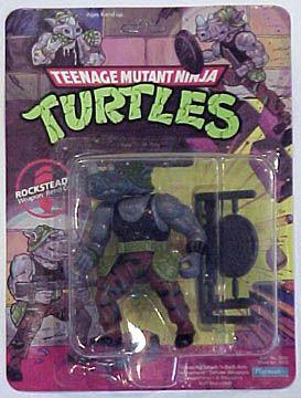 Teenage Mutant Ninja Turtles Action Figures: Rocksteady