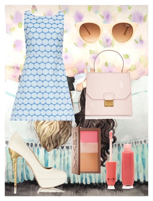 Unicorn shoes by clubdiana on Polyvore featuring polyvore, fashion, style, Alice + Olivia, Charlotte Olympia, Miu Miu, Quay, Forever 21 and Urban Decay