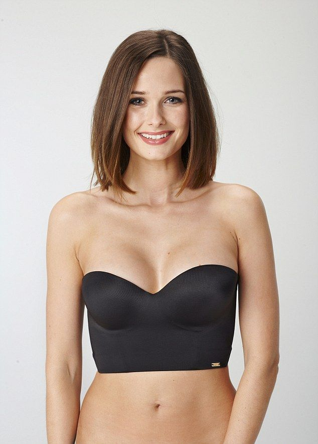 As 25 melhores ideias de low back strapless bra no for Strapless corset bra for wedding dress