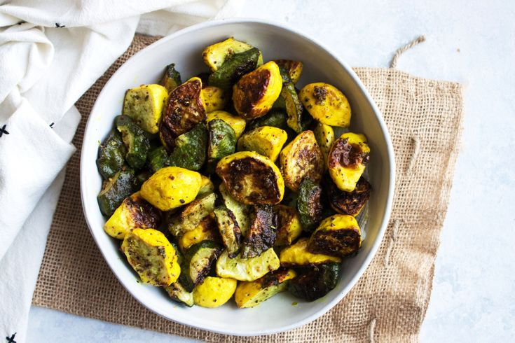 Happy Saturday guys! We are in the kitchen today roasting veggies and I want to share how I achieve perfectly roasted squash. I feel like pattypan squash is not as widely popular as a zucchini, but they pretty much taste the same. That very rustic and buttery flavor is perfect for roasting. That is precisely...Read More