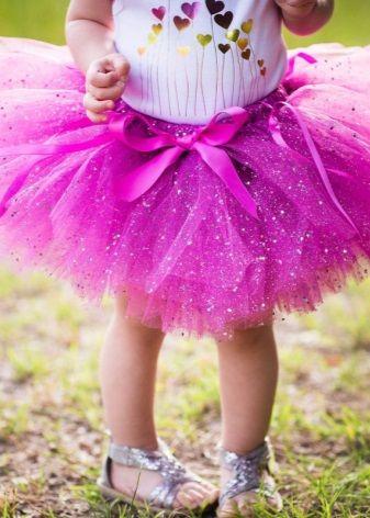 Юбка-пачка для девочки (35 фото): с чем носить и сочетать, как сшить из фатина - мастер-класс