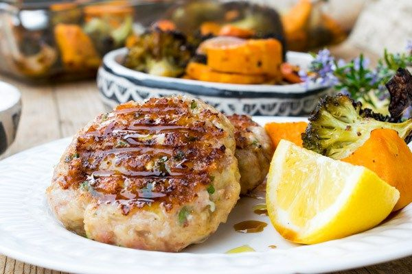 Amazing Grilled Chicken Patties (Burgers)