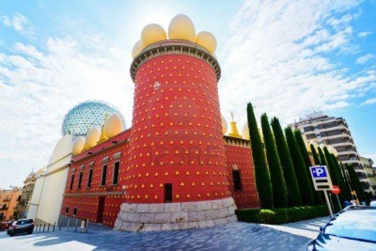 Salvador Dali museum in Figueras, Spain Stock Photo